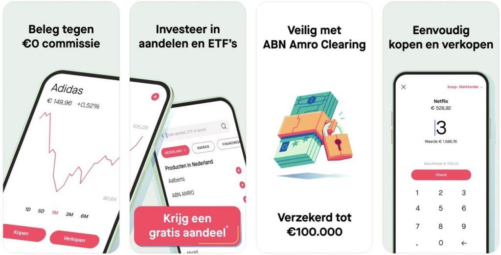 Bux zero beste aandelen app, BUX Zero gratis aandeel
