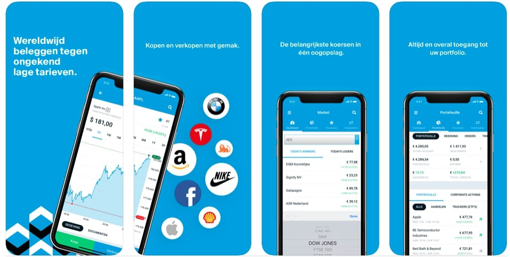 Beste trading app, Stock trading app, iPhone trading app, android trading app