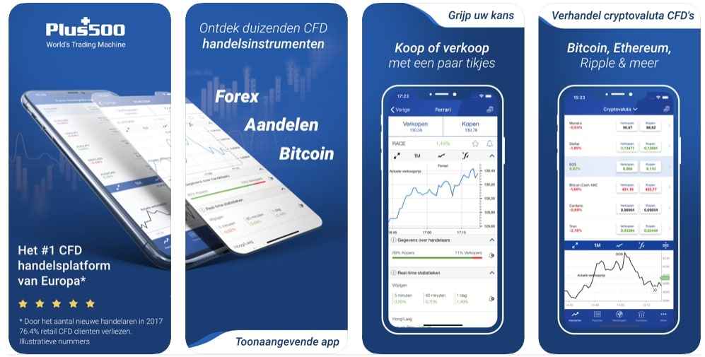 CFD Trading app iPhone and android